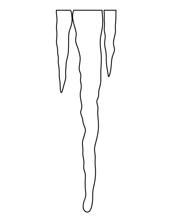 icicle coloring pages - photo#10