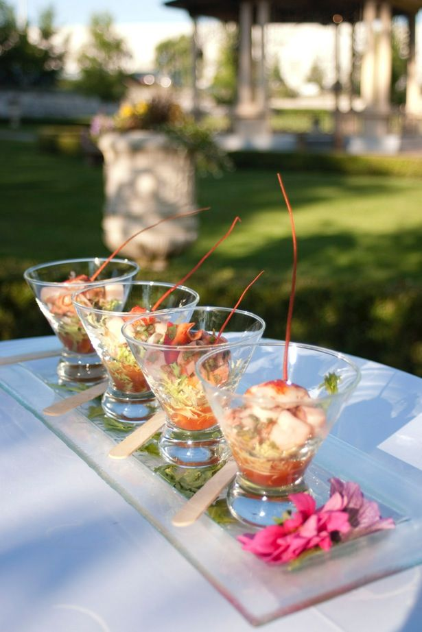 Outdoor event catering at the Terrace Banquet Centre in Vaughan
