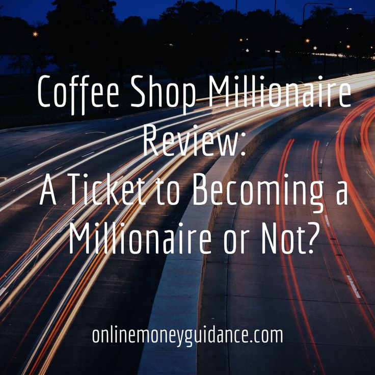 Coffee Shop Millionaire is a course online that you can acquire when you need help when it comes to making money on the web. Anthony Trister is the founder of the Coffee Shop Millionaire which he put up in order to help individuals who would want to make online as their source of money. Details : http://onlinemoneyguidance.com/coffee-shop-millionaire-review