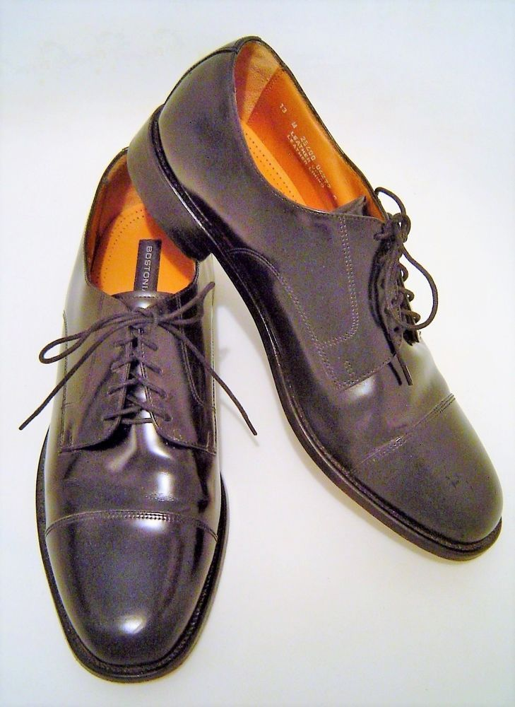 f5e615799 Bostonian Luxe Black Smooth Leather Cap Toe 5 Eye Lace Up Dress Shoes Mens  13M  fashion  clothing  shoes  accessories  mensshoes  dressshoes (ebay  link)