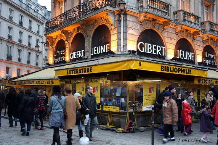 les librairies de Gibert Jeune