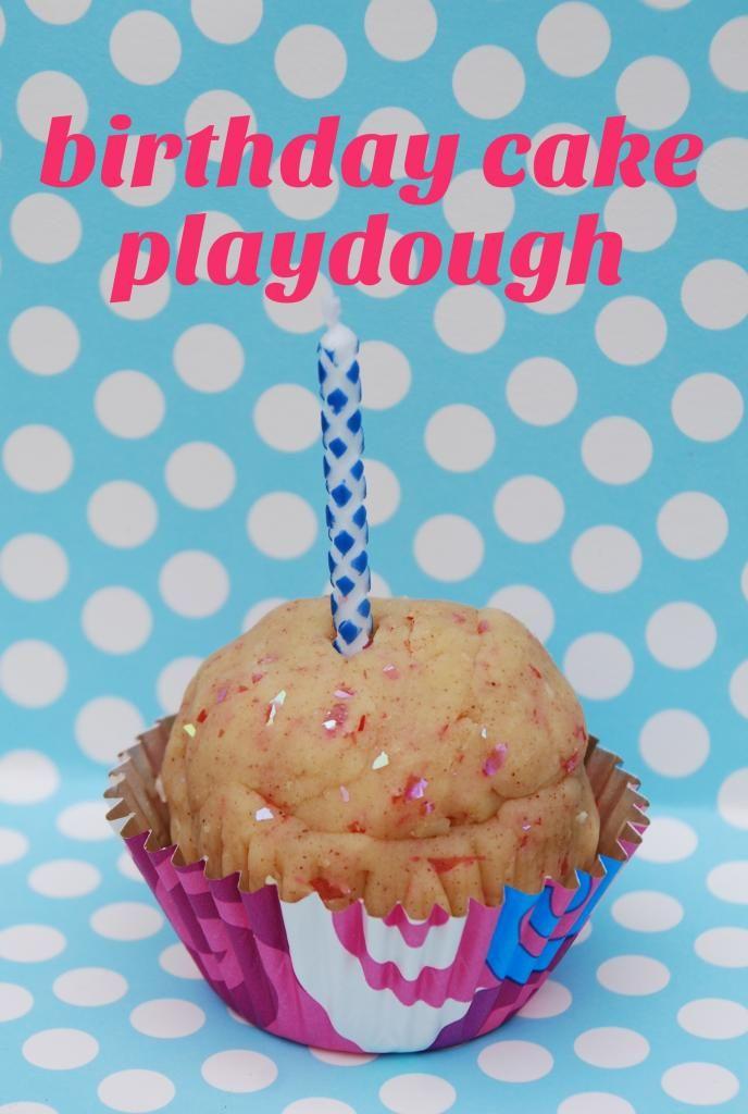 Birthday Cake Playdough Birthdays Favors And Party Favors