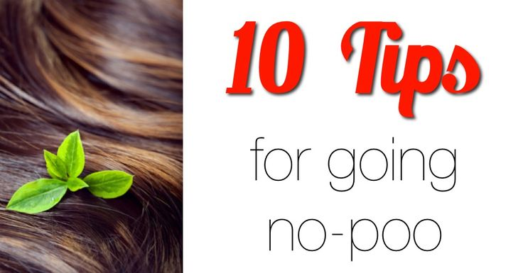 How do you find success ditching commercial hair products? Here are the top 10 tips for going no-poo.
