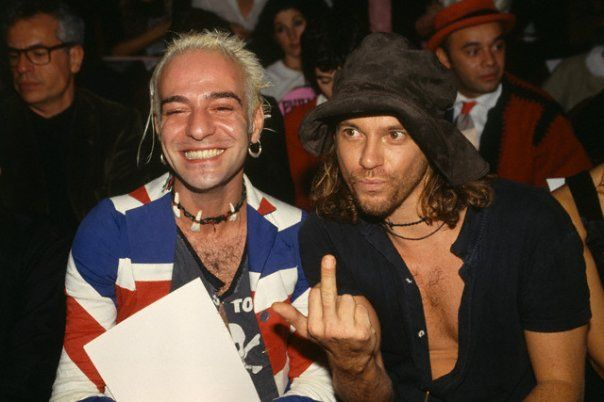 Michael Hutchence & John Galliano