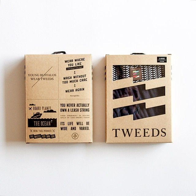 a different angle of our packaging for @twds underwear.
