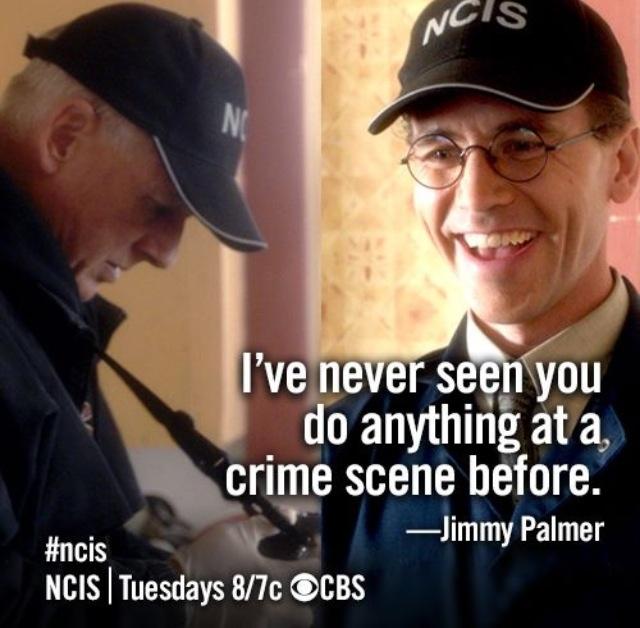 "NCIS Season 10 Episode 22 - ""Revenge"" ~ He He. Palmer doesn't think before he speaks."