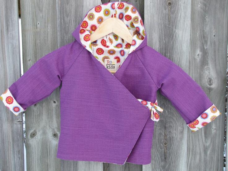 Children's Hoodie Jacket Size 2. $49.95, via Etsy.