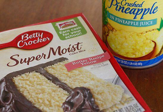 Duncan Hines Classic Yellow Cake Mix Cupcake Recipe