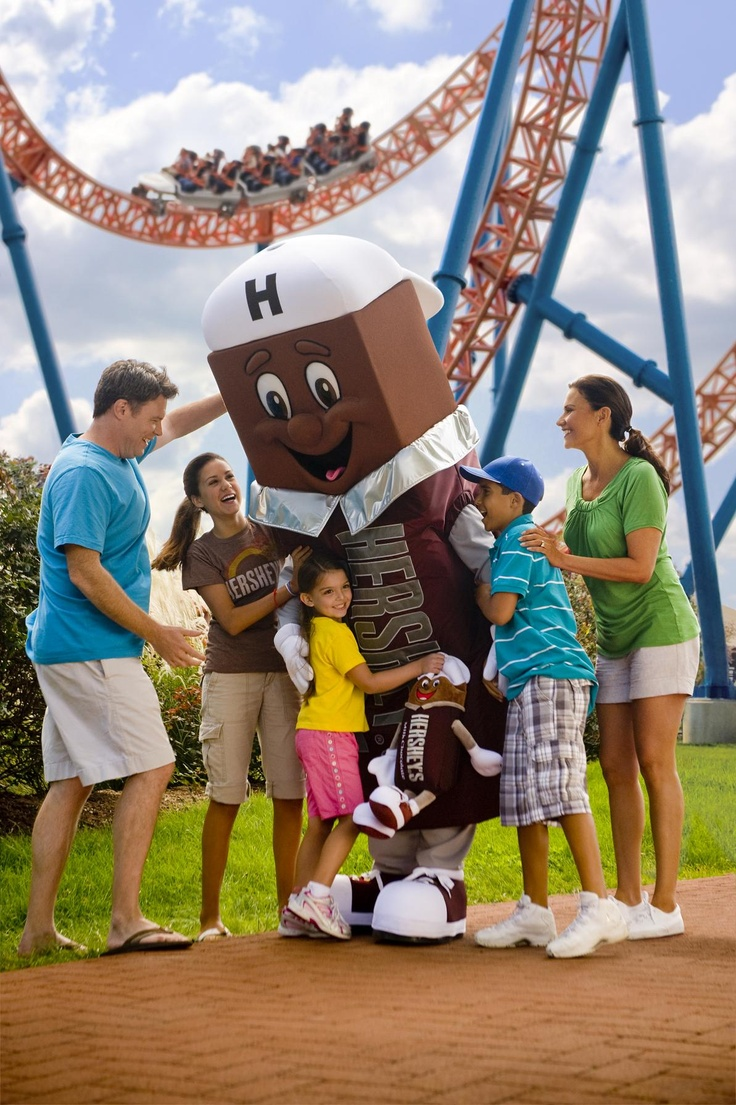 Hersheypark Is A Family Themed Amusement Park Located In