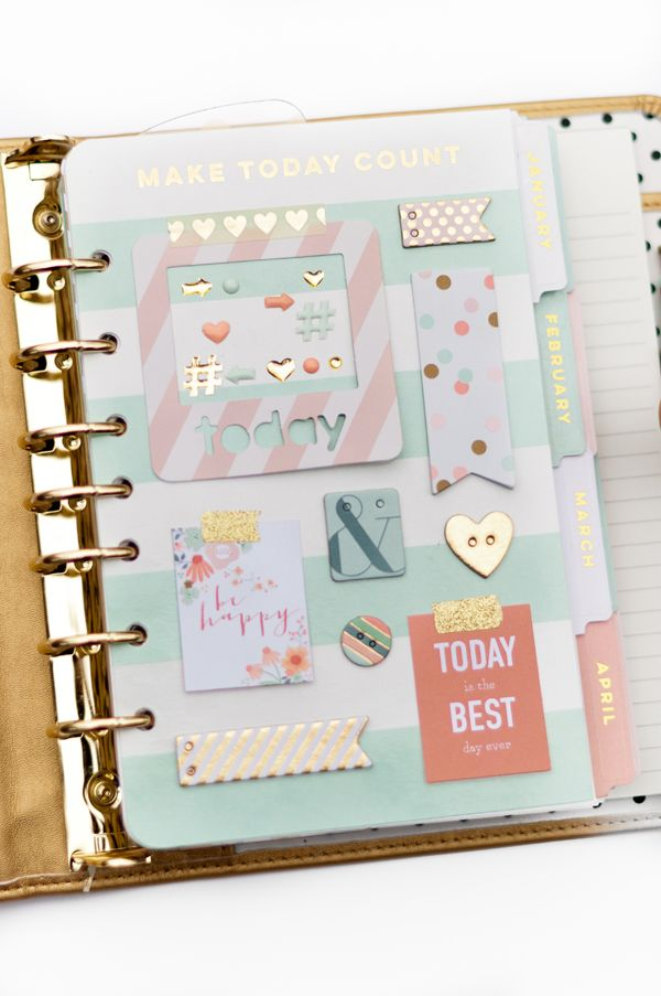 Alexes Marie Brown | Planner Love | My Minds Eye | Franklin Planner