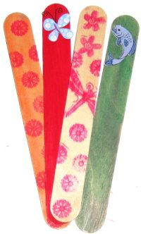 Image for Craft Stick Bookmark DIY Craft Project