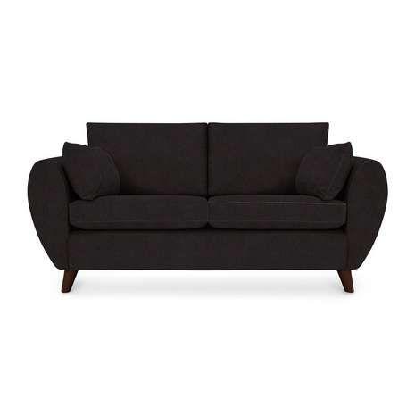 Hoxton 2 Seater Faux Leather Sofa | Dunelm