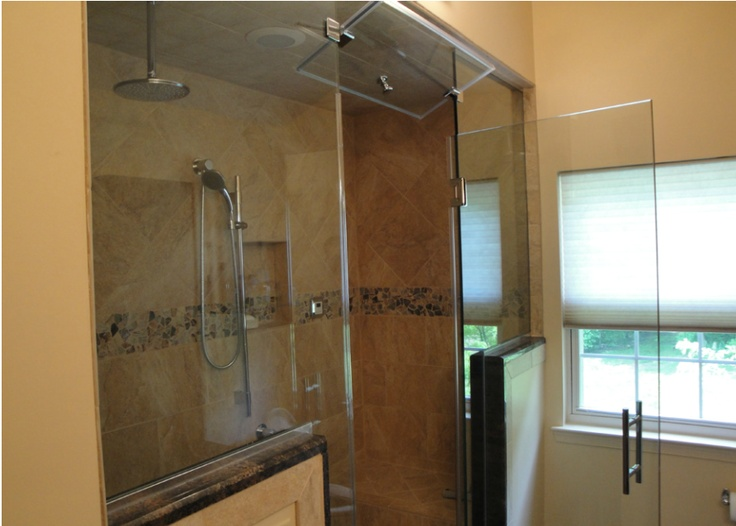 Imagine a shower as luxurious as this in your bathroom