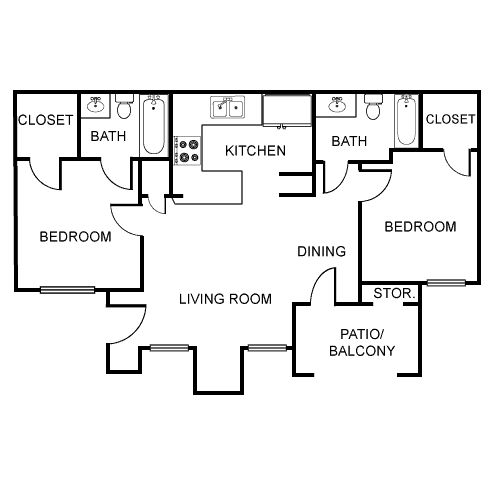 Applewood Apartments: 20 Best Images About Floor Plans On Pinterest
