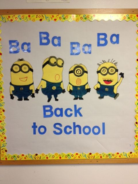minion bulletin board ideas - Google Search