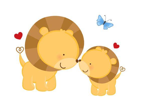Safari Lion Decal Jungle Animal Nursery Mural Decor Wall Art Stickers Kids Room #decampstudios