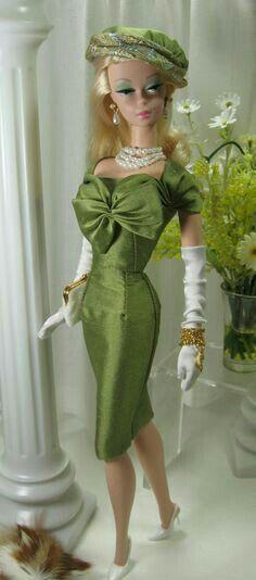 Barbie in Green