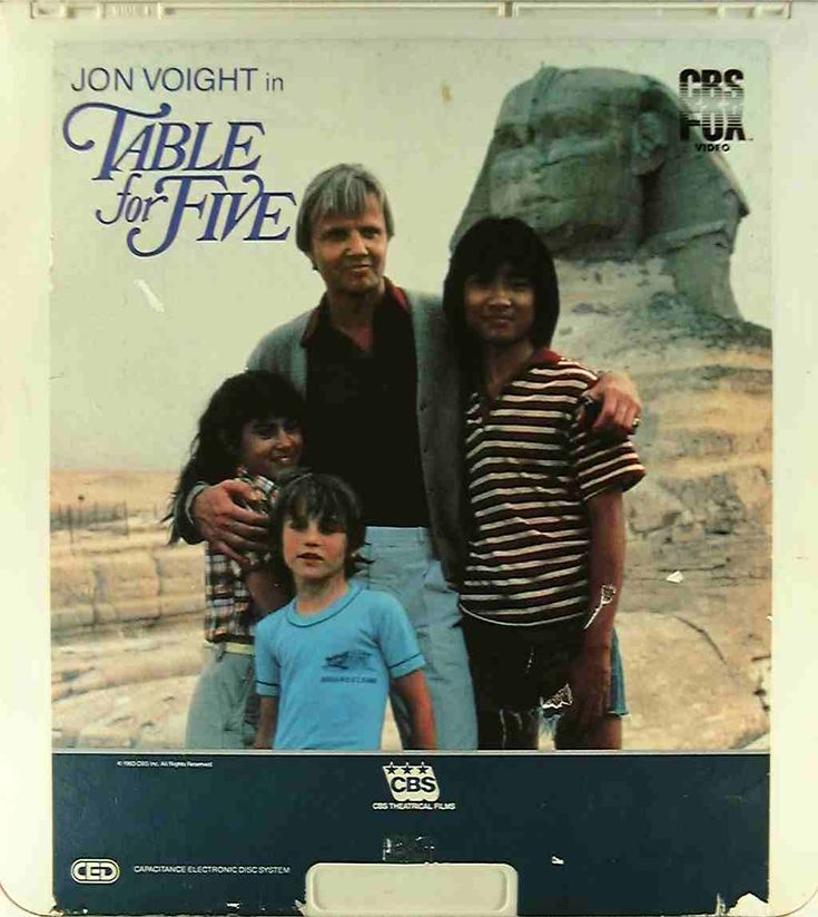 Table for Five  ::  Great movie.  I watched on a loop in the early 80's.  John Voigt and Roxana Zal.