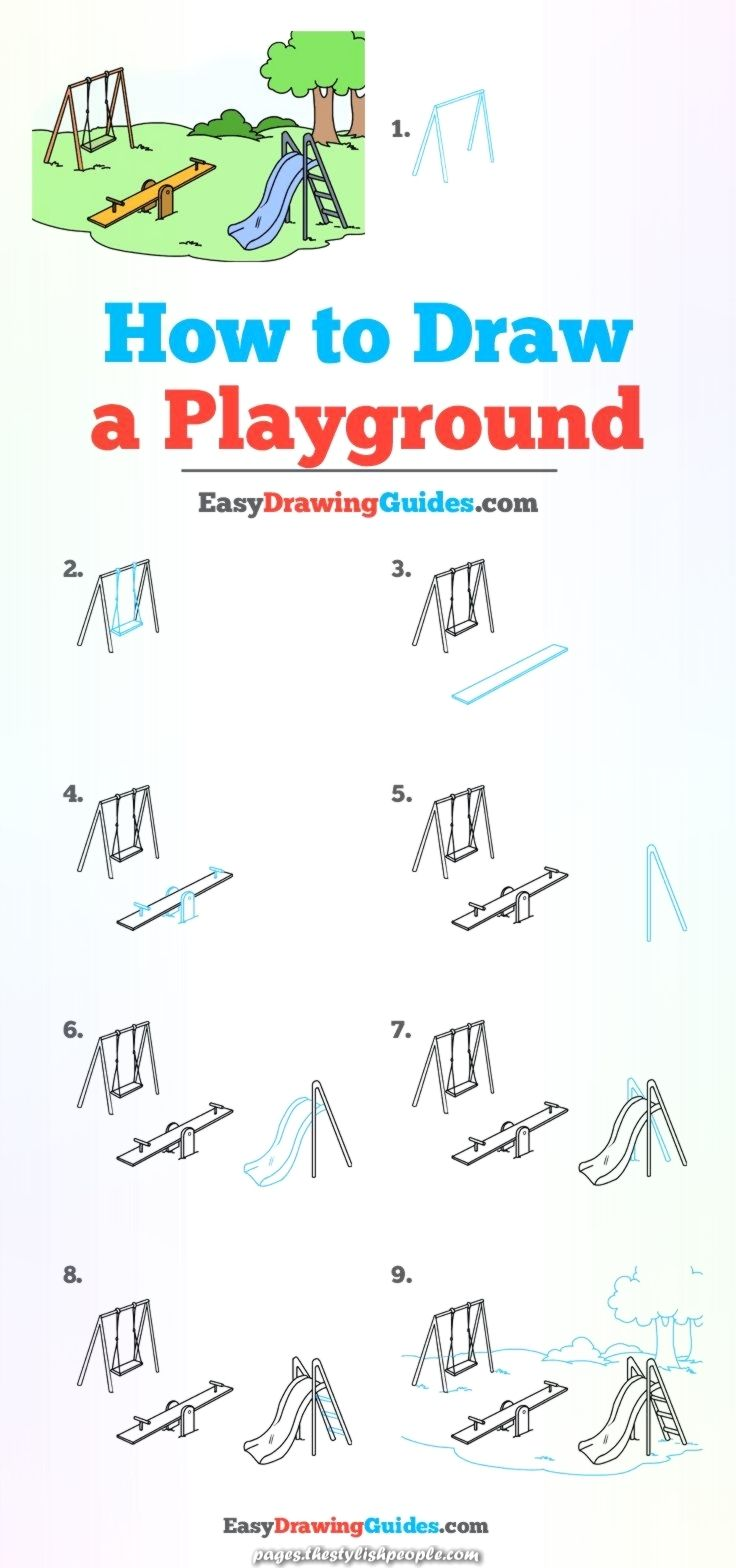 Legendary Discover Ways To Draw A Youngsters S Park A Easy Step By Step Drawing Tutorial For Children An Drawing Tutorial Easy Easy Drawings Drawing Tutorial