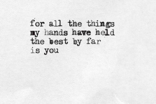 17 Best Holding Hands Quotes On Pinterest