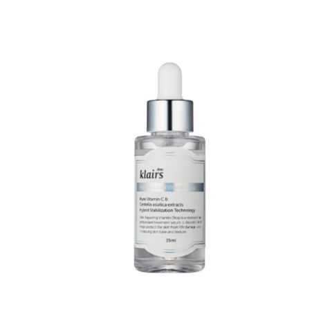 KLAIRS Freshly Juiced Vitamin C Serum not only brightens skin, it protects it! This serum is packed with antioxidants that prevent damage from exposure to sun, pollution, and free radicals. It helps treat existing damage too, fading pigmentation over time with continued use.