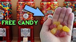 TOP 5 Gumball Vending Machine Hacks to Get FREE CANDY and SNACKS (WORKS EVERYTIME) - FREE FOOD Hack! - YouTube