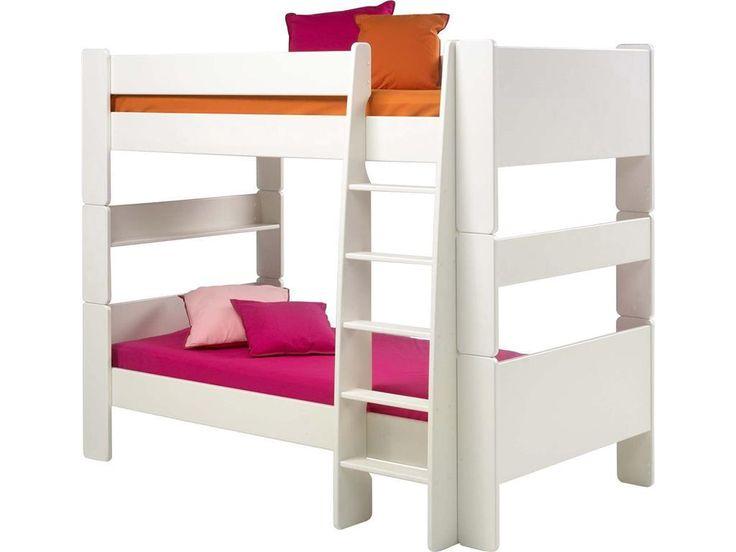 STEENS For Kids Etagenbett Weiß Mit Rolllattenrost Und Gerader Leiter  2906150050001N Jetzt Bestellen Unter: Https