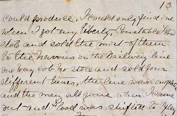 Bushrangers: Ned Kelly's Jerilderie Letter.