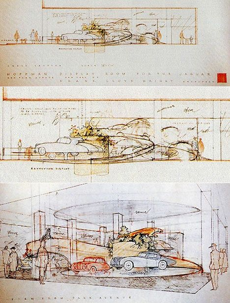 Wright Drawing Frank Lloyd Drawings Pinterest