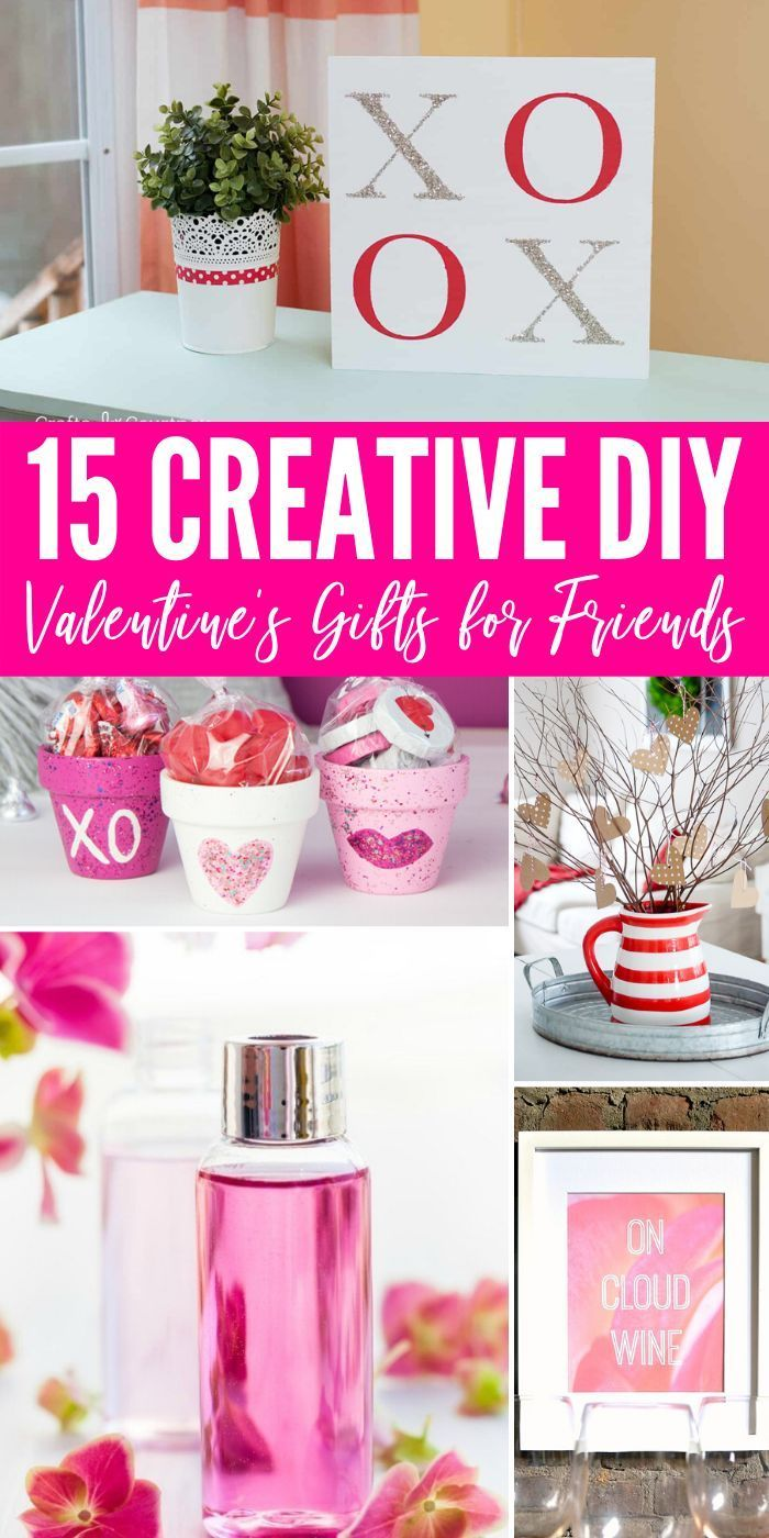 15 Of The Best Valentine S Gifts For Friends Passion For Savings In 2020 Friend Valentine Gifts Diy Valentine S Gifts For Friends Valentines Day Gifts For Friends