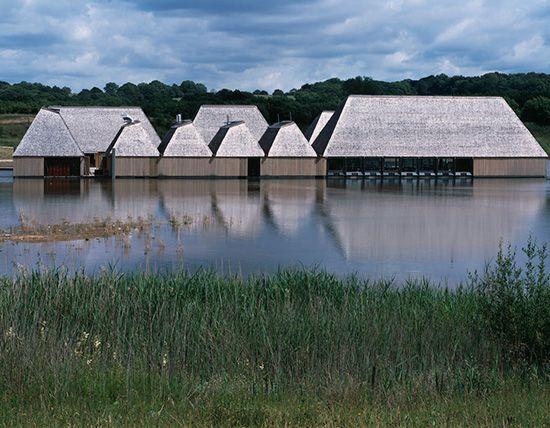 Adam Khan Architects, Brockholes Visitor Centre, Preston UK.