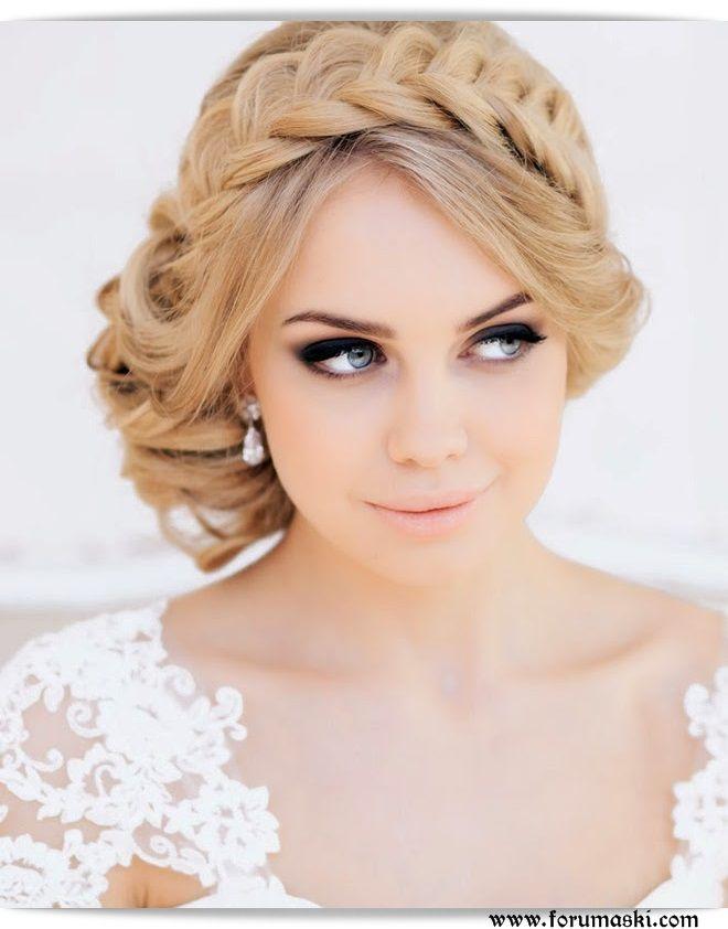 En Güzel Saç Örgüleri, Düğün için örgü saç modelleri 2014-2015 - Forum Aski - Türkiye'nin En Eğlenceli Forumu