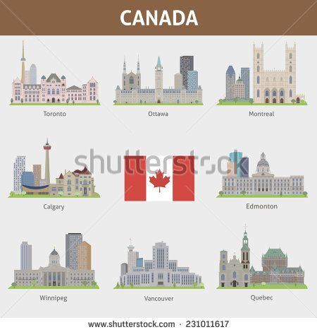 Cities in Canada