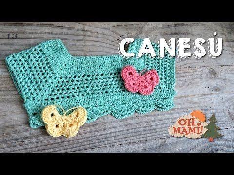Canesu en crochet el paso a paso es para niñas de 6 meses a 1 año,hecho en hilo cristal y gancho 3.5 Vestidos de niñas en crochet, vestiditos de bebes en cro...   Supernatural St