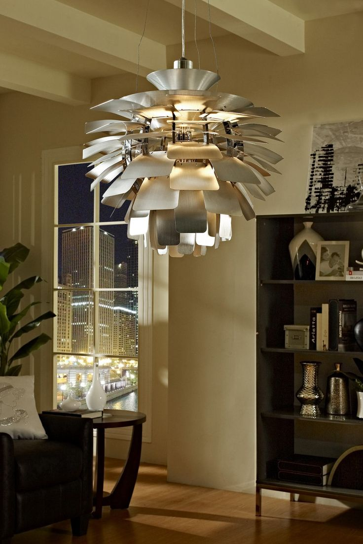 23 best poul henningson the artichoke lamp images on pinterest the artichoke style modern silver chandelier lamp is a study in perception stemming from the inner recesses of the soul aloadofball Choice Image