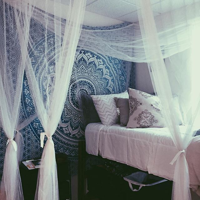 Fashion blog dorm dream rooms and room ideas for Space themed tapestry