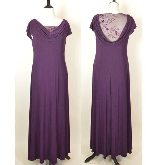 Purple Patra dress plus size Purple plus size dress Patra Dresses