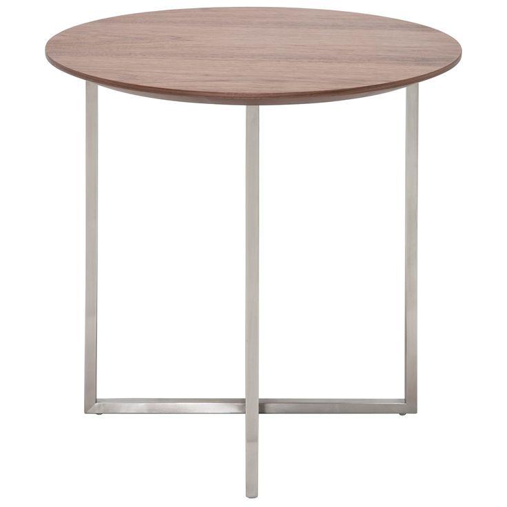Nuevo Dixon American Walnut Side Table @Zinc_Door