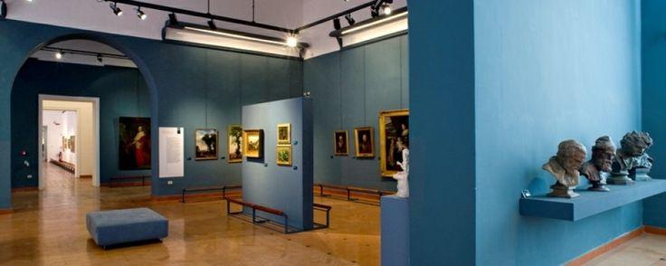 La Galleria dell'Accademia delle Belle Arti, allestita nel palazzo che ospita l'Accademia di Belle Arti, espone prevalentemente pitture dell'Ottocento Napoletano. #Napoli #Naples
