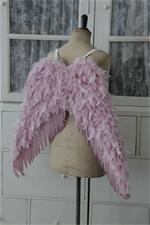 .: Model, Angel Wings, Arc Living, Pink Wings, Pastel Pink, Guardians Angel, Pink Angelw, Feathers
