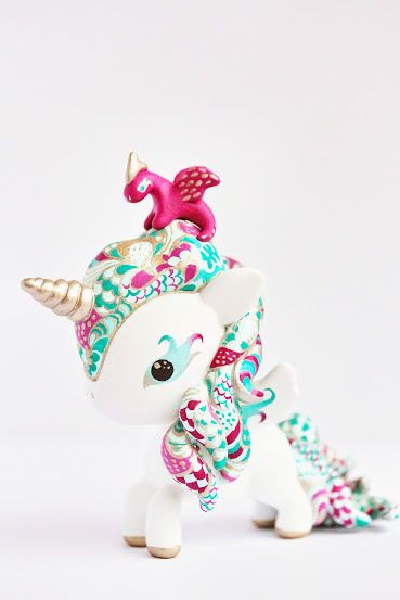 OOAK Tokidoki Unicorno Ebay auction! :) Ends on Feb. 16th. Don't miss