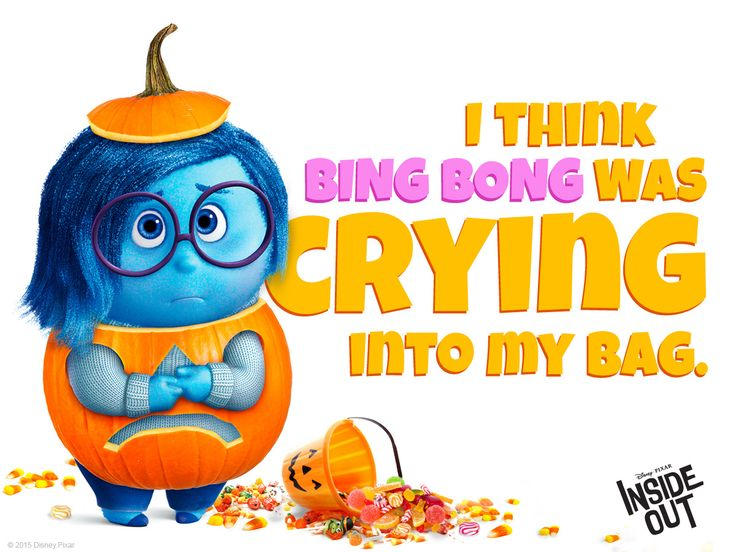 The caramel really is delicious. #Halloween! #BingBong