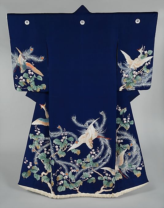 Outer Robe (Uchikake) for a Wedding Date: 19th century Culture: Japan Dimensions: 73 x 49 1/4 in. (185.4 x 125.1 cm)