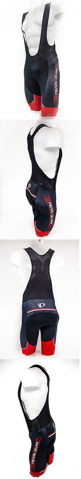 Shorts 177853: Pearl Izumi 2017 Elite Pursuit Ltd Bike Cycling Bib Shorts Black True Red,Medium -> BUY IT NOW ONLY: $95.87 on eBay!