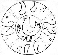 día de Andalucía colorear platos de cerámica | Jugar y colorear