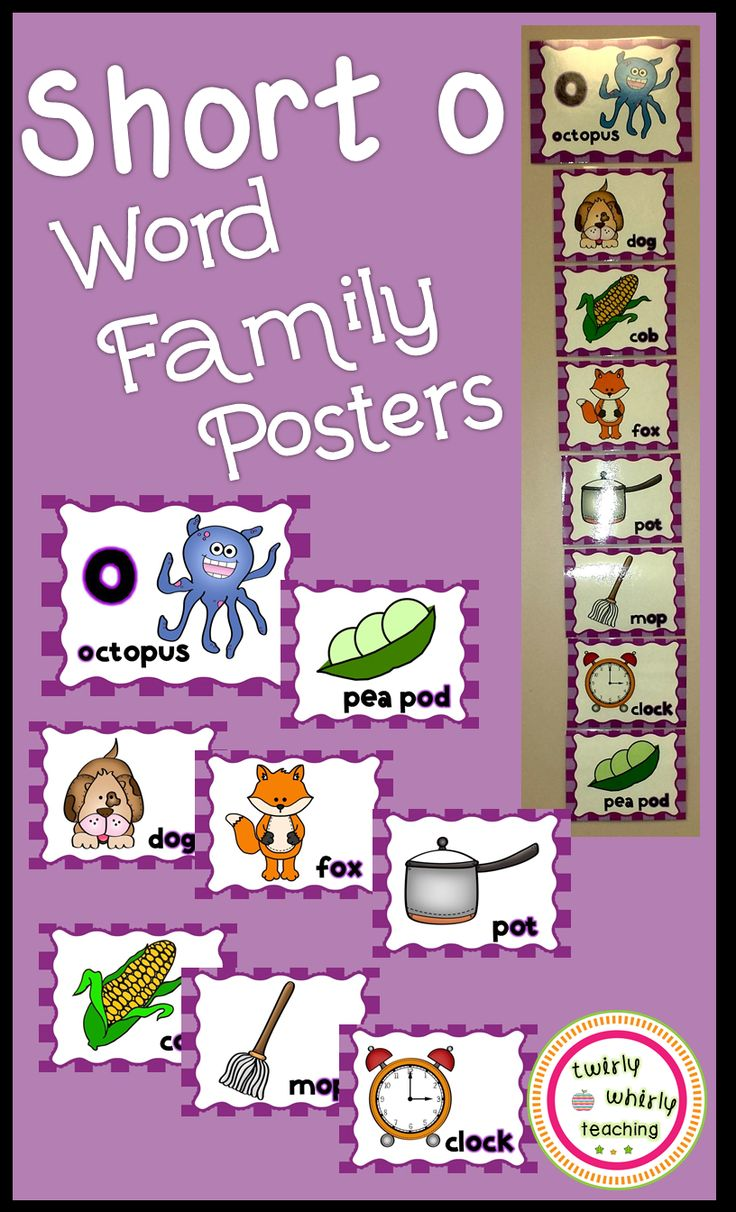 294 best Word Families images on Pinterest | Phonics, Ell and Bubbles