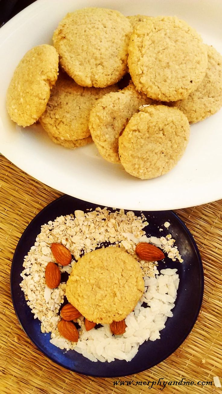 Adding a desi touch to cookies is something i thoroughly enjoy. Poha or beaten rice is an excellent substitute for rice flour, when it comes to baking. The oats, poha and almonds blend with each other to give this cookie an amazing crunch and the inside has a hollow feel, making the cookie light an
