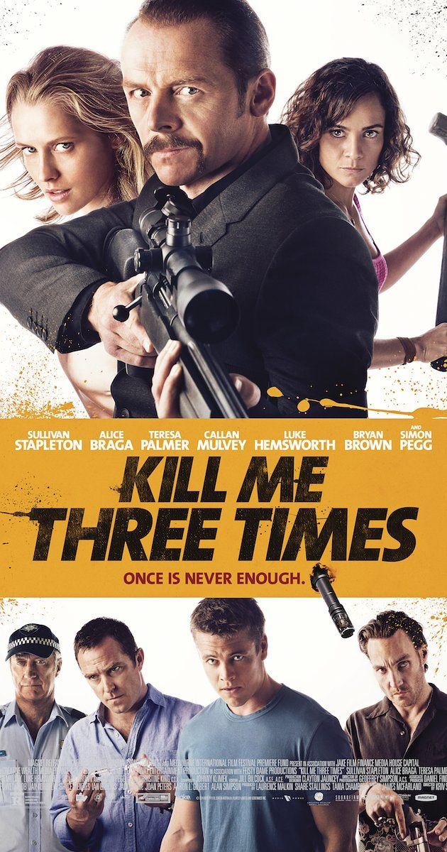 For some reason it wouldn't let me pin the trailer, but Kill Me Three Times was an ok Simon Pegg movie. I like his movies and thought it was funny!