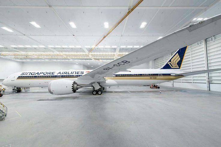 B 787 10 de Singapur Airlines