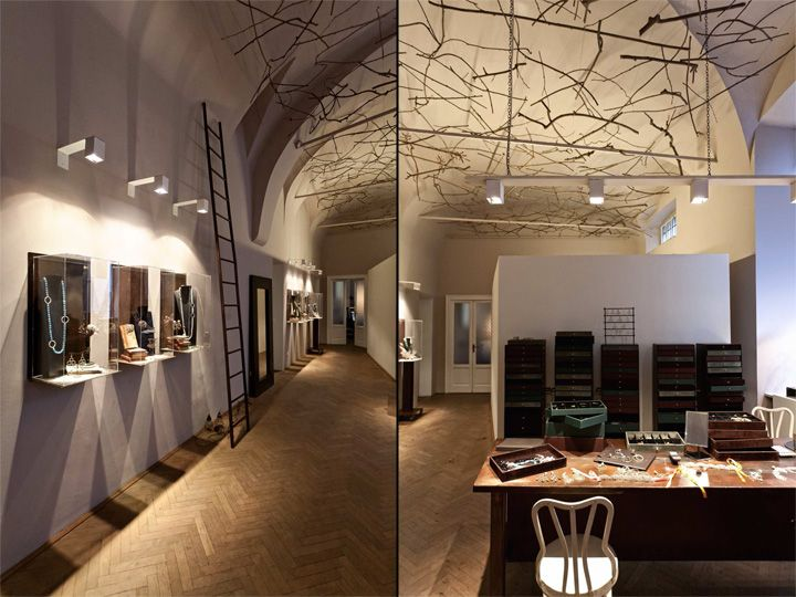 daniela de marchi jewelry by paolo cesaretti daniela de marchi milan store design